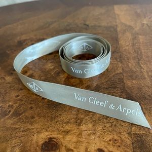 Authentic Van Cleef and Arpels ribbon